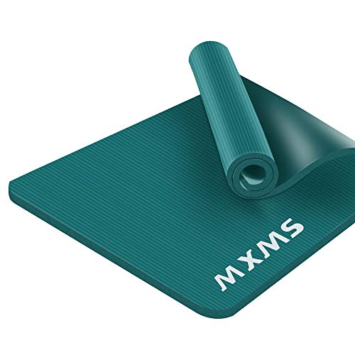 YUREN Tappetino da Yoga da Esercizi 185×90cm 15mm di Spesso NBR Antiscivolo per Uomini Fitness Palestra Pilates Aerobica Yoga Ginnastica Tappetino