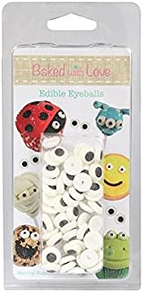Edible Sugar Eyes by Baked with Love - Pack of 50