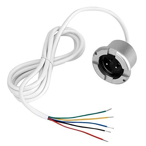 Sensor de Fugas de Agua, informes precisos, Tiempo de Respuesta rápido, fácil de Usar, Sensor de Agua con Cable, para hoteles, restaurantes