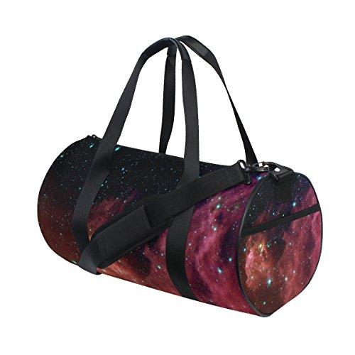 Ahomy Schultertasche, Orion, Nebel, Sternbild, Galaxie, Sterne, Weltraum, Universum, Sport, leicht, Segeltuch, Reisetasche