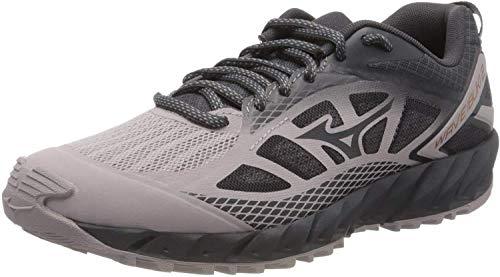 Mizuno Wave Ibuki 2, Zapatillas de Running para Asfalto Mujer, Gris (Cloudburst/Pscope/10135 C 36), 37 EU