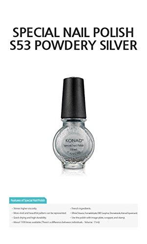 KONAD® Stamping Lack S03 Silver, 1x11ml
