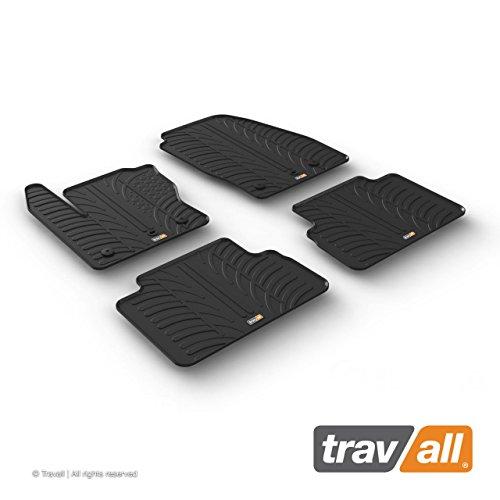 Travall Mats Gummifußmatten TRM1249 – Allwettermatten Nach Maß Fussmatten Set
