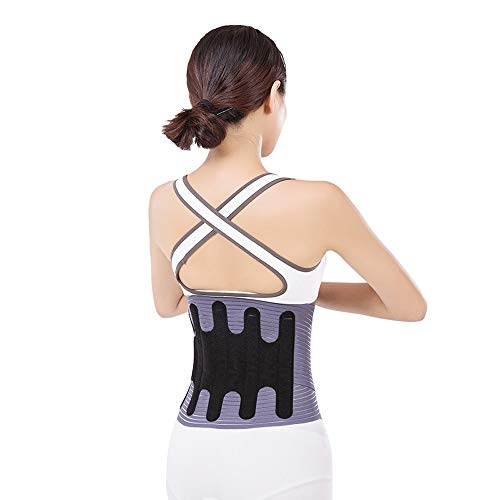 Waist Trimmer Kit Weight Loss Wrap Maag Fat Burner lage rug- en lendensteun Beste Trainer Belt Slimmer ZHQHYQHHX (Color : Purple, Size : L)