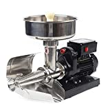 Prensa eléctrica de 450 W, para tomates, patatas, pasapurés, prensa de frutas, puré de patatas, zumos de frutas, puré de verduras