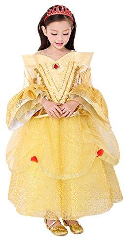 Eyekepper kind-meisjes-karikatuur ELSA prinses cosplay blaas jurk
