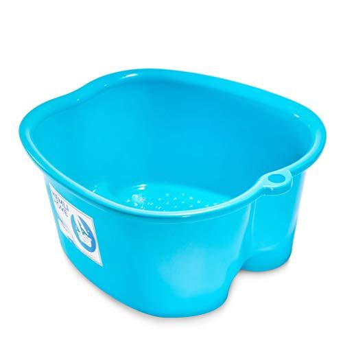 Foot Soaking Bath Basin - Large Size For Soaking Feet - Perfect for at Home Pedicures and Spa Treatments - Foot Spa Soak Tub