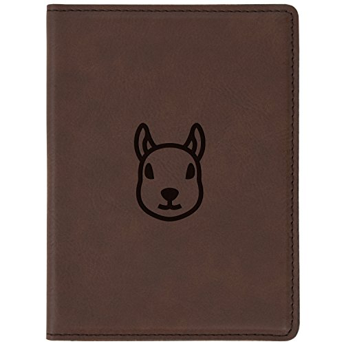 Mini Pig Walking On The Fields Blocking Print Passport Holder Cover Case Travel Luggage Passport Wallet Card Holder Made With Leather For Men Women Kids Family