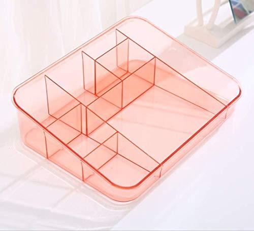Preisvergleich Produktbild WXF Haushalt Einfache Schmuck-Box,  Kunststoff Nordic Einfache Office-Corner Storage Box Cosmetic Box Finishing