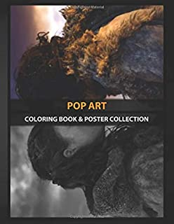 Coloring Book & Poster Collection: Pop Art Oil Painting Of Jon Snow And Ygritte Fantasy