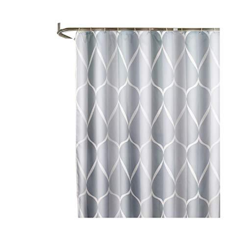 Bishilin Duschvorhang 80X200 Schmal, Badvorhang Anti-Schimmel Duschvorhang Muster Infinity Vintage Duschvorhang Polyester Lang