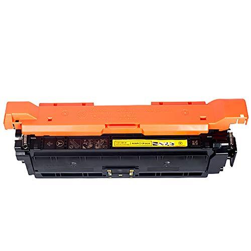 CE250A Cartucho de Tóner, AHXN de Alta Capacidad HD con Chip para HP 504A CP3525N 3525X CM3530 Color Printer Cartridge, color amarillo size