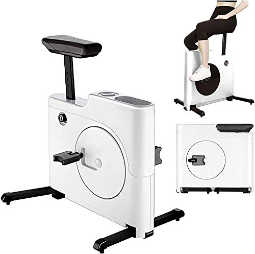 Bicicletas de ejercicio verticales Bicicleta giratoria plegable con control magnético Bicicleta de ejercicios para interiores Gimnasio en casa Herramienta de ejercicios con un cómodo cojín de asiento