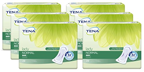 TENA LADY normal Einlagen 6X28 St