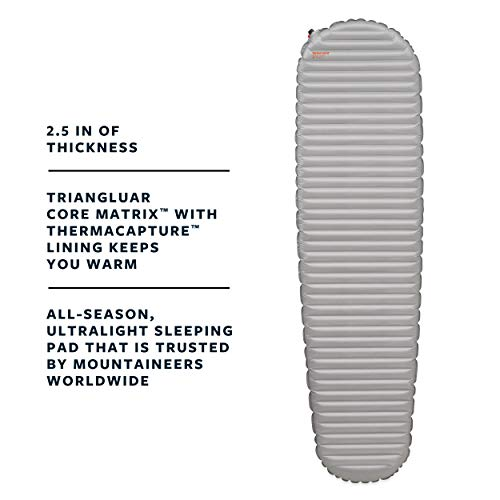 THERMAREST(サーマレスト)アウトドアマットレスネオエアーXサーモR値6.9ベイパーレギュラー【日本正規品】30059