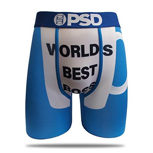 PSD Underwear The Office Athletic Boxershorts, Herren, Worlds Best Boss - The OfficeAthletic Boxer Briefs, Der Beste Boss der Welt, XX-Large