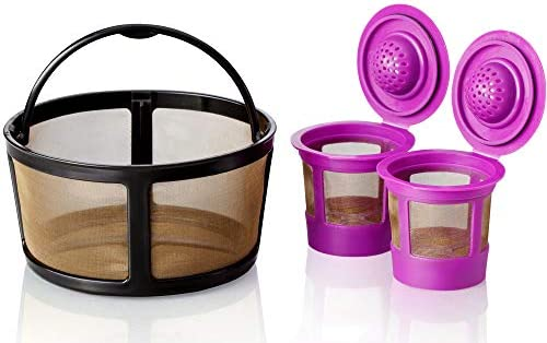 GoodCups Keurig K Duo Coffee Filter and 2 Reusable K Cups for K Duo Essentials K Duo Brewers product image
