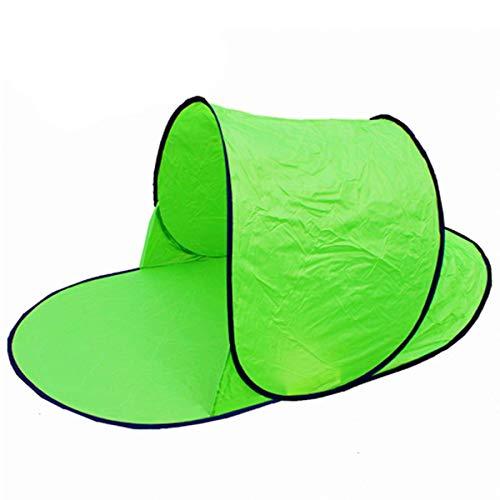HGXC Carpa de Playa Carpa Plegable Impermeable al Aire Libre a Prueba de Rayos UV, Adecuada para Jugar en la Playa