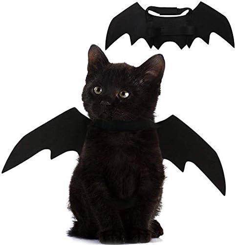 Pet Cat Bat Wings for Halloween Party De
