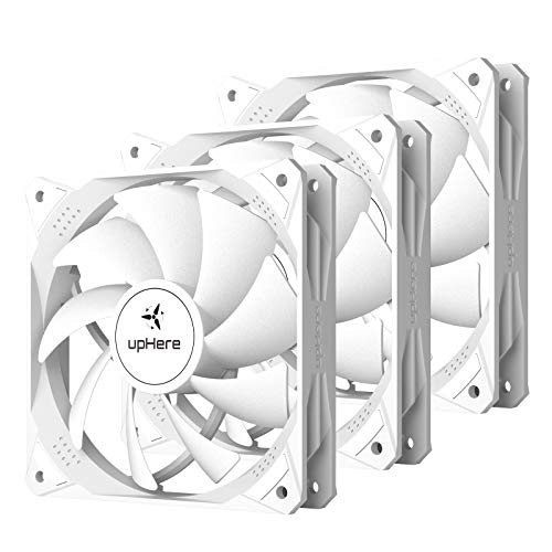 upHere NT12044-3 - Ventilador silencioso para PC, 4 pines, 120 mm