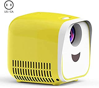 Alexsix Portable Mini Smart Projector, with Display LED Full HD Video Projector, Compatible with 1080p HDMI, for Home Theater Entertainment, Party and Games