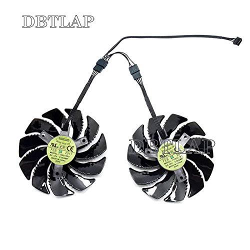 DBTLAP 88mm T129215SU Graphics Card Ventola di Raffreddamento per Gigabyte GePerce GTX 1050 Ti RX 480 470 570 580 GTX 1060 G1 Gaming Raffreddamento