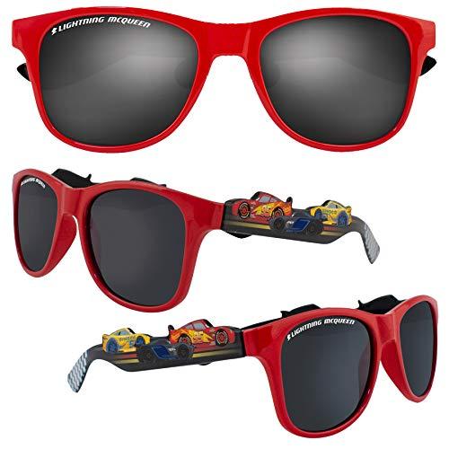 Disney Cars Kinder Charakter Sonnenbrille 100% UV-Schutz für Urlaub