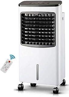 JINHH Pequeña Móviles De Aire Acondicionado, De Un Solo Tipo Fría Casa De Aire Acondicionado Ventilador De Aire Acondicionado De Refrigeración Rápida Cómoda Estilo 80W