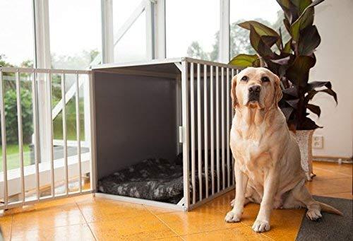 Hundebox M3TK L106cm Aluminium Top Qualität Hundekäfig, hundetransportbox Auto Alu und transportbox. Europäischer Qualitätsproduktion.