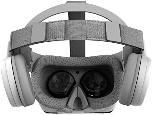 None Bobovr Z6 Foldable VR 3D Glasses Virtual Reality Mini Cardboard Helmet VR Glasses Headsets BOBO VR for 4-6 Inch Smartphone (Color : White)