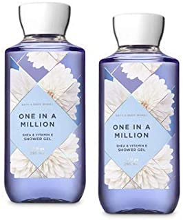 Bath and Body Works 2 Pack One In A Million Shower Gel 10 Oz.