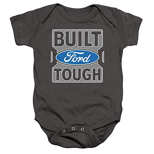 Ford Trucks Built Ford Tough Unisex Infant Snap Suit for Baby Boys and Girls, Large (18 months)