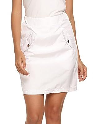 Chigant Women's Everyday Skort Sport Skirt with Pockets