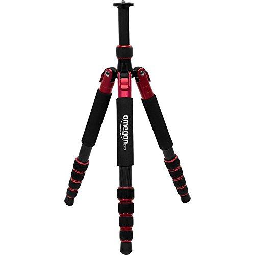 Omegon Pro Carbon, trípode de 3 Patas para cámaras y prismáticos de diseño Elegante y Ultraligero