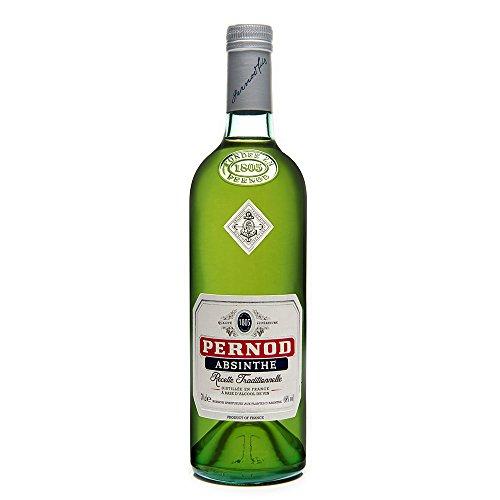 Pernod Absinthe Recette Traditionnelle – Absinth nach traditionellem Original-Rezept – Angenehm milde Wermutspirituose mit pflanzlichen Noten – 1 x 0,7 L