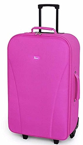 Go Explore Wheeled 2 Wheel Suitcase 57 Liter- Pink