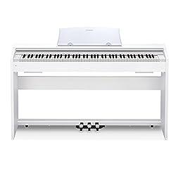 powerful Casio PX-770WH Privia Digital Home Piano, White