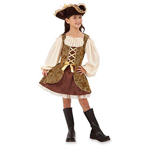 Bristol Novelty CC412 Goldenes Pirat Kleid, Bunt, M