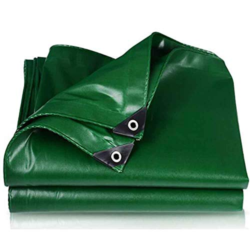 YCSD Lona Resistente, 100% Lona Impermeable Y Resistente A La Intemperie, Peso 450g + 20g / M²Cada Cuadrado, Lona Espesa para Sombrilla para Exteriores(Size:4x4m)