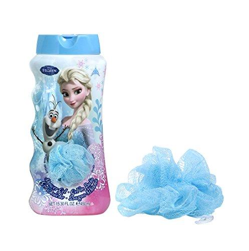 Frozen - Disney Gift - Shower Gel und Spielzeug - tiefgekühlt - gefroren, 1er Pack (1 x 1 Stück)