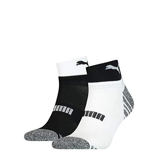 PUMA Men's Seasonal Quarter Socks (2 pack)