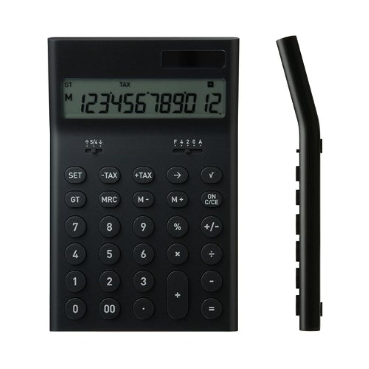 ±0 プラスマイナスゼロ 電子計算機 M (ブラック) ZZD-Q010(B)