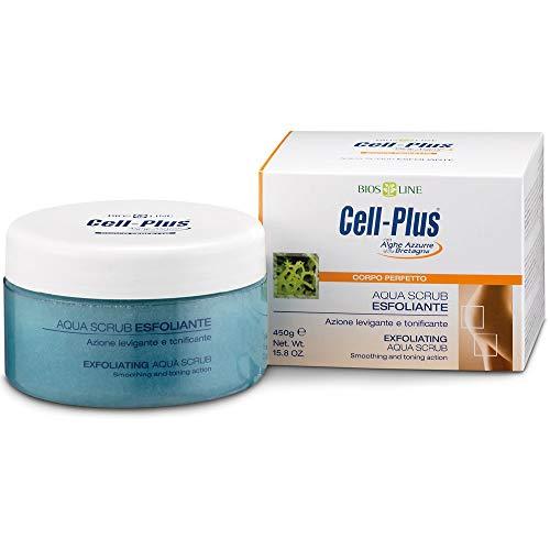 Bios Line - Cell Plus Aqua Scrub Esfoliante - contrasta la ritenzione idrica - 450 gr