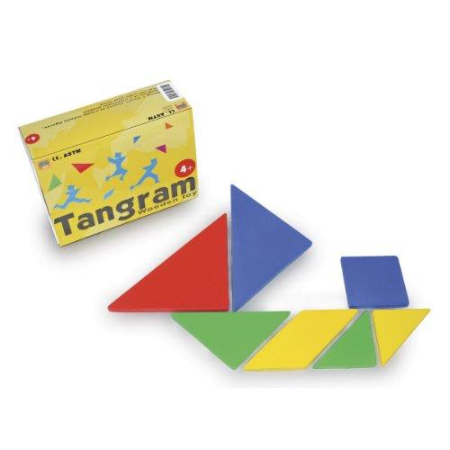 «Tangram in legno»
