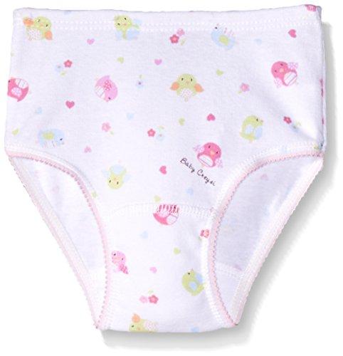 Baby Creysi 00427 NPF Braguitas para Niñas, Color Blanco Estampado, 2 Años