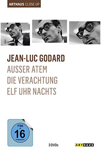 Jean-Luc Godard - Arthaus Close-Up [3 DVDs]