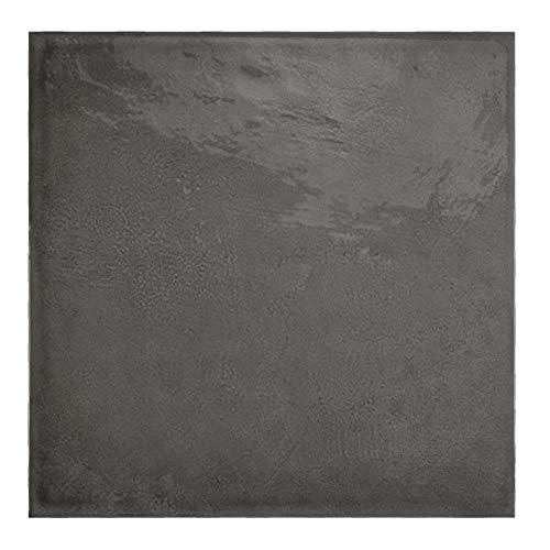 Nais Baldosas cerámicas para paredes Colección Habitat (20x20 cm) - Caja de 1 m2 (25 pzas), Obsidian