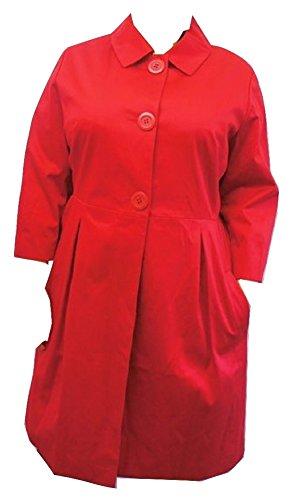 Next - Cappotto - università - Donna rosso 48