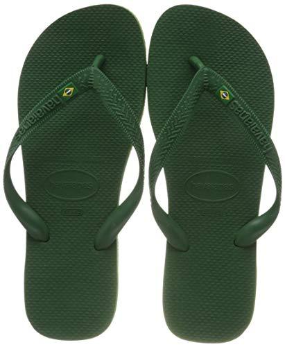 Havaianas Brasil Amazonia Green Flip Flops - UK 5 - BR 37/38 - EU 39/40