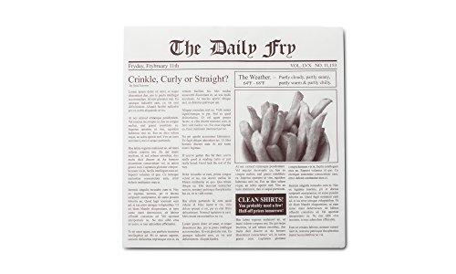 Fox Run 13200 Wachspapiereinlagen, Zeitungspapier, 24 Stück